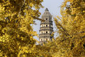 Tiger hill pagoda, Suzhou Royalty Free Stock Photos
