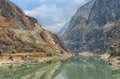 Tiger leaping gorge in china world s deepest Stock Photography