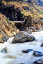 Tiger leaping gorge in lijiang yunnan province china Stock Photos