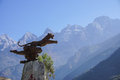 Tiger Leaping Gorge in Lijiang, Yunnan Province, China Royalty Free Stock Photo