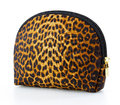 Tiger make up or cosmetic bag Royalty Free Stock Photos