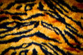 Tiger skin texture Stock Photography