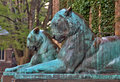 Tiger Statues At Princeton Uni...
