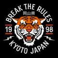 Tiger t-shirt 004