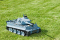 Tiger tank model Royalty Free Stock Images