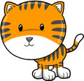 Tiger Vector Illustration Stock Images