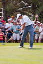 Tiger Woods Full Swing 2 of 6 Royalty Free Stock Photo