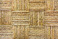 Tight wicker weave interlaced weaved pattern of product Stock Photos