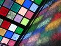Tijuana stained glass Royalty Free Stock Photo