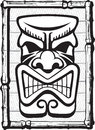 Tiki also illustrated layered and high resolution jpeg files available Stock Image