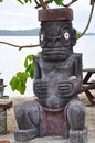 Tiki Idol Royalty Free Stock Photo