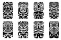 Tiki Mask Royalty Free Stock Photo