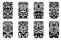 Tiki Mask Royalty Free Stock Photo