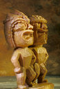 Tiki statues Royalty Free Stock Photos