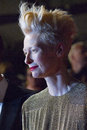 Tilda swinton cannes france may attends the premiere of only lovers left alive during the th annual cannes film festival at the Stock Photography