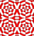 Tile abstract seamless red color pattern Stock Photo