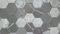Tile background vintage cement mosaic floor pattern for Royalty Free Stock Image