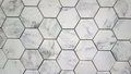 Tile background vintage cement mosaic floor pattern for Royalty Free Stock Images