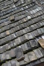 Tile calcined roof tiles southern china Stock Images