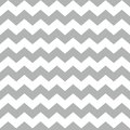 Tile chevron vector pattern with white and gray zig zag background