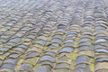 Tile close view of roof Royalty Free Stock Images