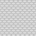 Tile, fish scales seamless pattern
