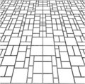 Tile Floor Vector 09 Royalty Free Stock Photos