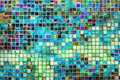 Tile Mosaic Background Royalty Free Stock Photo