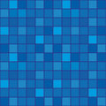 Tile-mosaic of dark blue Stock Images