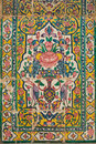 Tile panel, khan medrese, shiraz, iran Royalty Free Stock Photo