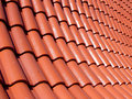 Tile-roof Stock Photo