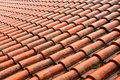 Tile on roof Royalty Free Stock Photos
