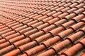 Tile on roof
