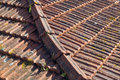 Tile roof at porto portugal Stock Photos