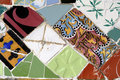 Tile Series 11, Guell Parc Royalty Free Stock Image