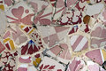 Tile Series 7, Guell Parc Royalty Free Stock Image