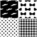 Tile Vector Pattern Set With B...
