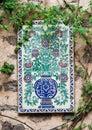 Tile on a Wall Guanajuato Mexico Stock Photos