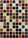 Tile wall mosaic background texture Royalty Free Stock Photography