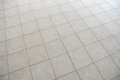 Tiled floor gray texture and background Royalty Free Stock Photo