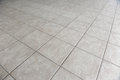 Tiled floor gray texture and background Royalty Free Stock Photography