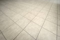 Tiled floor gray texture and background Stock Images