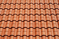 Tiled house roof Royalty Free Stock Image
