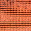 Tiled roof texture. Royalty Free Stock Photo