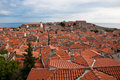 Tiled roofs Royalty Free Stock Photo