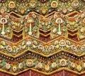 Tiled Stupa in Bangkok, Thailand Stock Photo