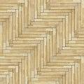 Tiles of parquet floor Royalty Free Stock Photo
