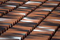 Tiles on a roof top Royalty Free Stock Photo
