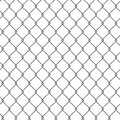 Tiling texture of barbed wire fence d Royalty Free Stock Images