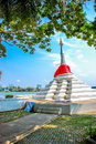 Tilted Pagoda at Koh Kret, Nonthaburi